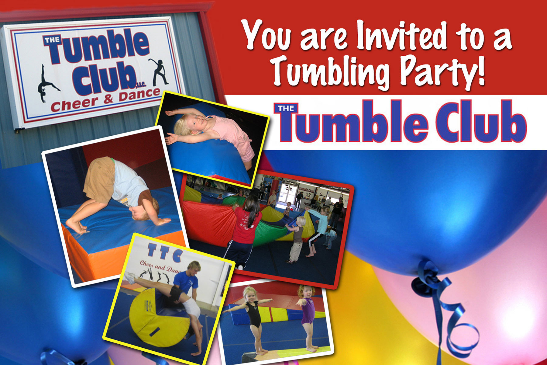 The Tumble Club Birthday Party